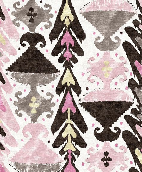 Ikat Heart From Custom Cool Rugs