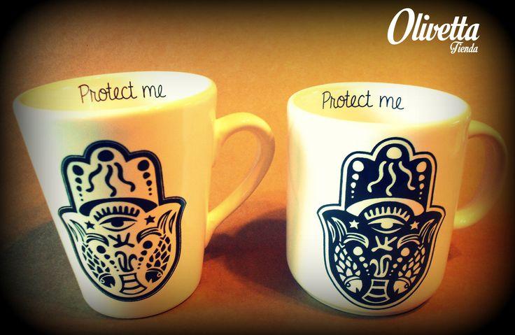 """Tazas """"Protect Me"""""""