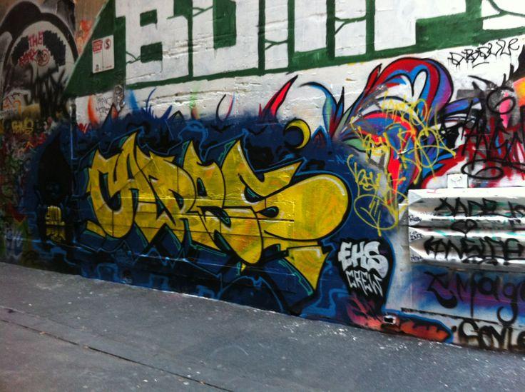 Art in Melbourne CBD.