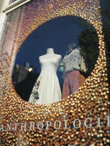 Anthropologie Display...want to have this for a window