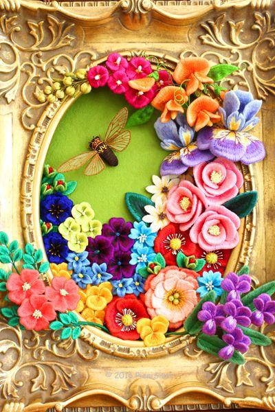 PieniSieni(ピエニシエニ)ビーズ・フェルト刺繍作家(Bead Felt Embroidery artist)