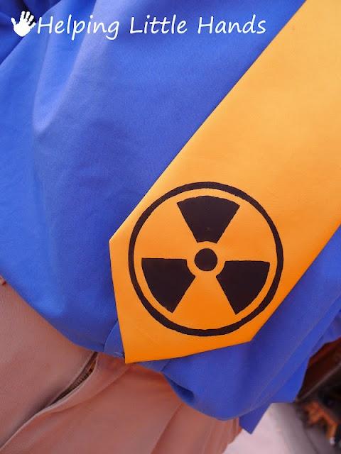 Radioactive Tie for the nuclear engineer hubby :) Ha ha