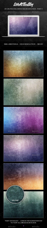 20 Grunge Blurred Backgrounds - Part 2