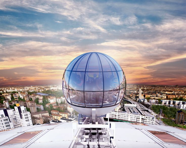 Stockholm Globe Arenas Presents SkyView – On Top of the Globe