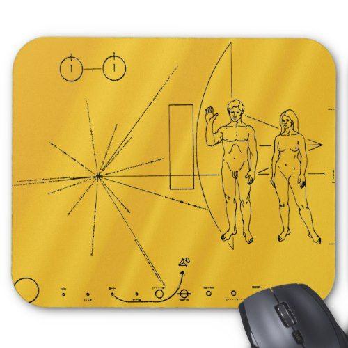 space probe pioneer 10 plaque - photo #41
