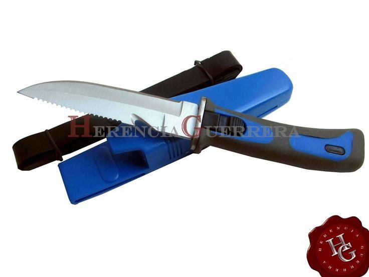 Cuchillo Buceo Stinger WL-209 — Herencia Guerrera