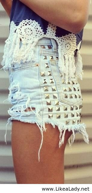 Nice shorts for girls