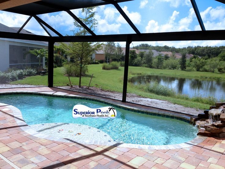 custom pool enclosure hexagon shape. Superior Pools Open View Pool Cage Custom Enclosure Hexagon Shape O