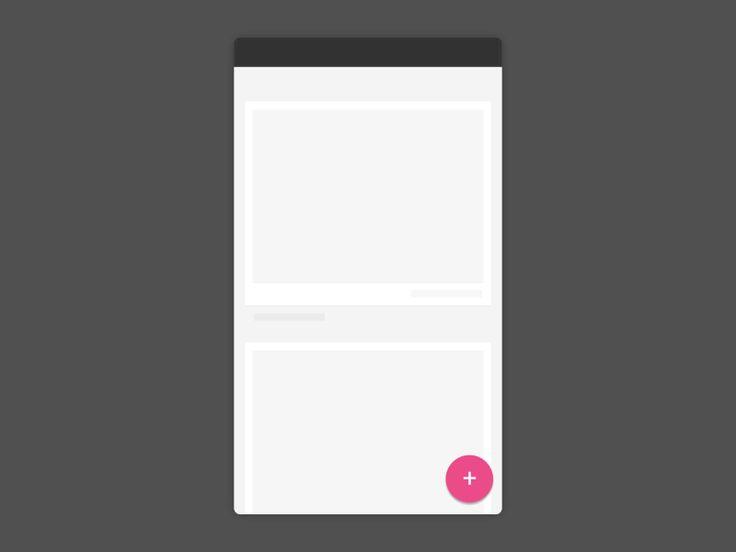 Dribbble login concept
