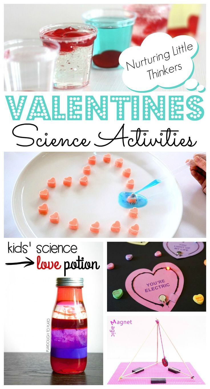 Valentines Day Science Projects - some FANTASTIC Valentines Day STEAM Activities for kids. Not only are they fun.. but they will really get the kids THINKING! Love.