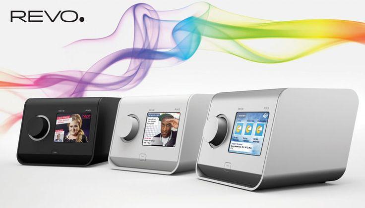 Revo PiXiS DAB+ Radio - Touch the future of digital radio. DAB / DAB+ / FM digital radio with full-colour touch screen control. Doneo Malta