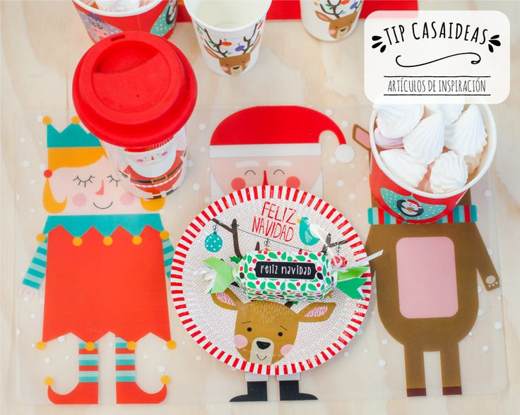 Los niños son los más entusiastas de la Navidad, y disfrutan cada momento. Por eso, puedes comenzar desde ya a agregando pequeños detalles a su mesa, para compartir esta Navidad con amor.