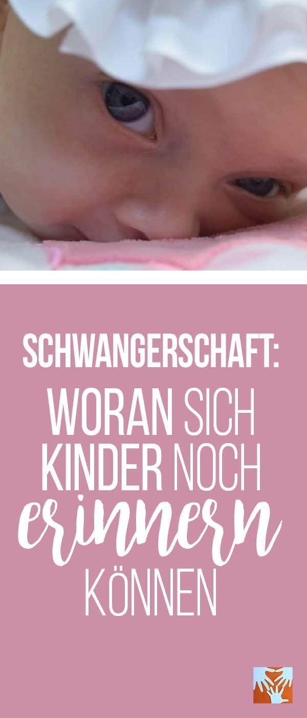 Schwangerschaft: Woran sich Kinder noch erinnern können – Sylvia Konrad