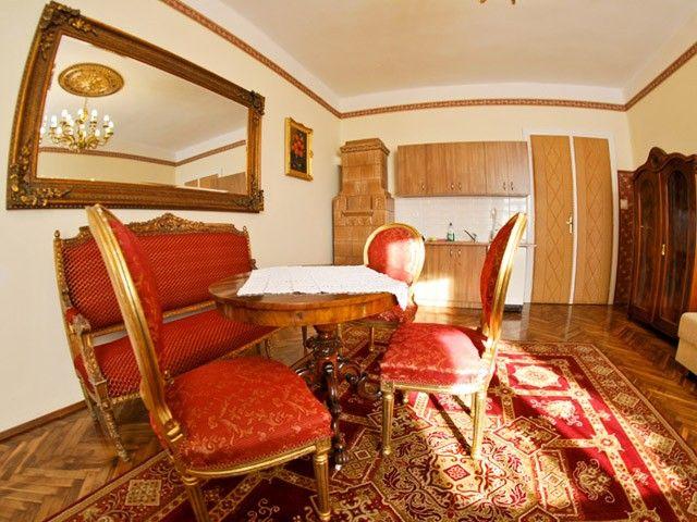Luksusowe i komfortowe Apartamenty w Krakowie. Na zdjęciu Apartament Szlachecki VII http://krakowforfun.com/pl/4/apartamenty/szlachecki-vii
