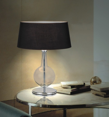 Topaz Table Light by Elite    Great way to add in a contrast colour against the smoke natural wood