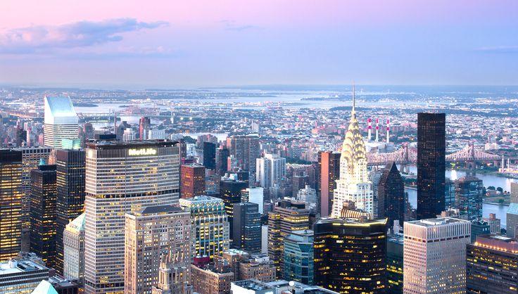 New York kenti' nin 5 ana bölgesinden biri - Manhattan, Amerika