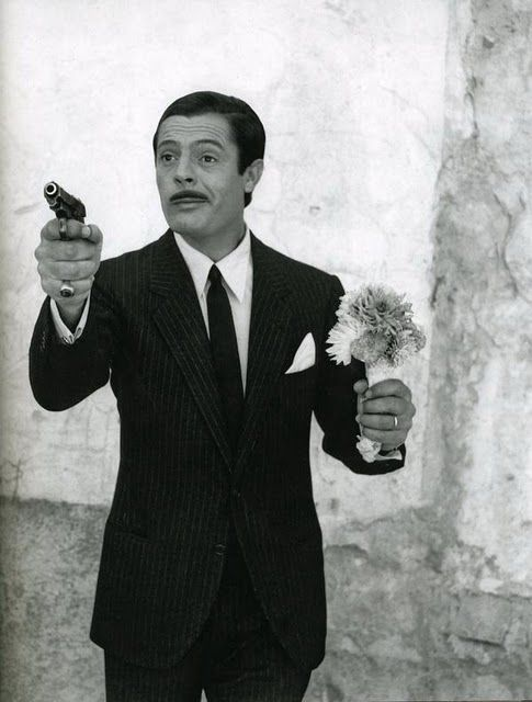 "Marcello Mastroianni in ""Divorzio all'italiana"" (Divorce, Italian Style) (1961)"
