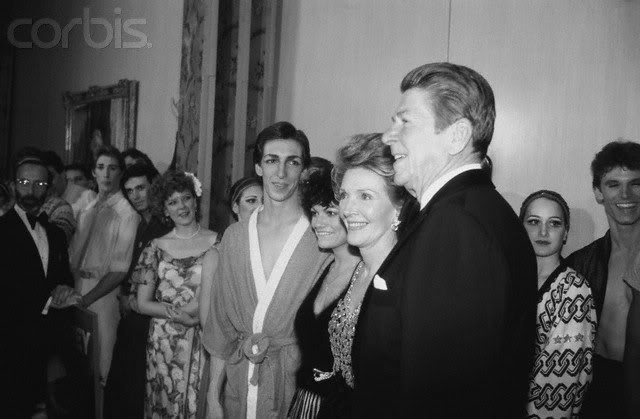 I grew up & started to pay attention to politics in the Reagan years.  He actually had me believing I could be Republican.  My politics have changed, but not my love of Nancy and Ronald Reagan.