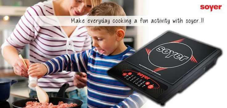 Replace your conventional gas top with Soyer Induction Cooktop and make every day #cooking a fun activity!!!
