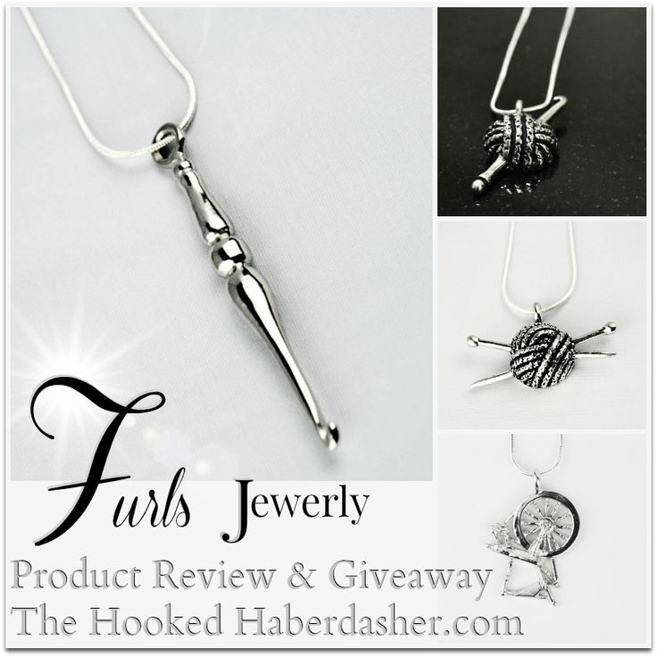 Furls Jewerly Product Review & Giveaway-The Hooked Haberdasher, ends 3/25/15 11:59p PT