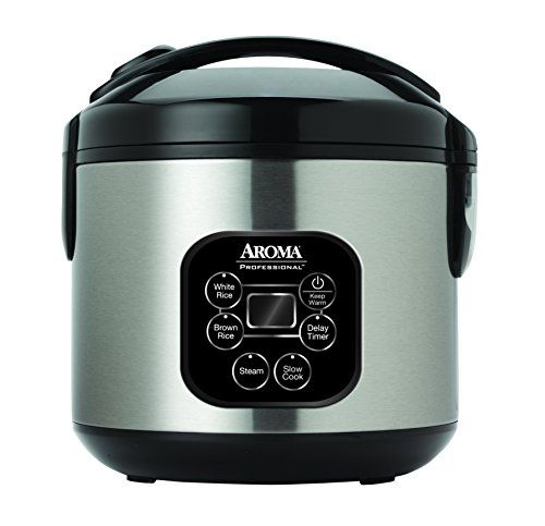 Aroma Housewares ARC-934SBD Aroma Professional Rice Cooker / Multicooker, Silver