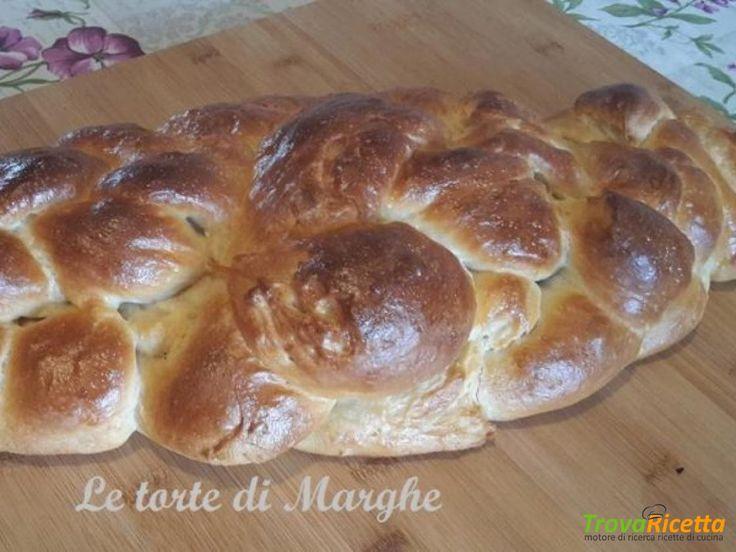 Treccia pan brioche a sei capi dolce o salata  #ricette #food #recipes