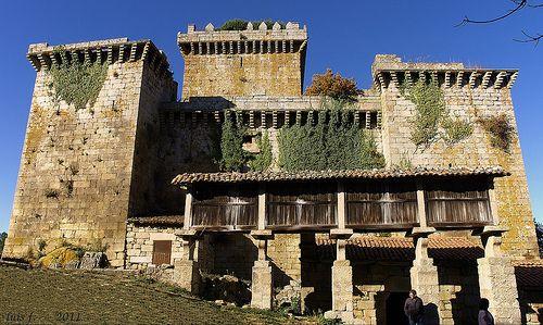 GALICIA Castelo de Pambre (Lugo)