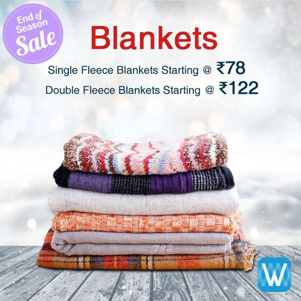 Retailers, buy single and double fleece blankets in bulk only on #Wydr Wholesale E-Commerce. Source direct from manufacturers. Assured Quality. Place order now!