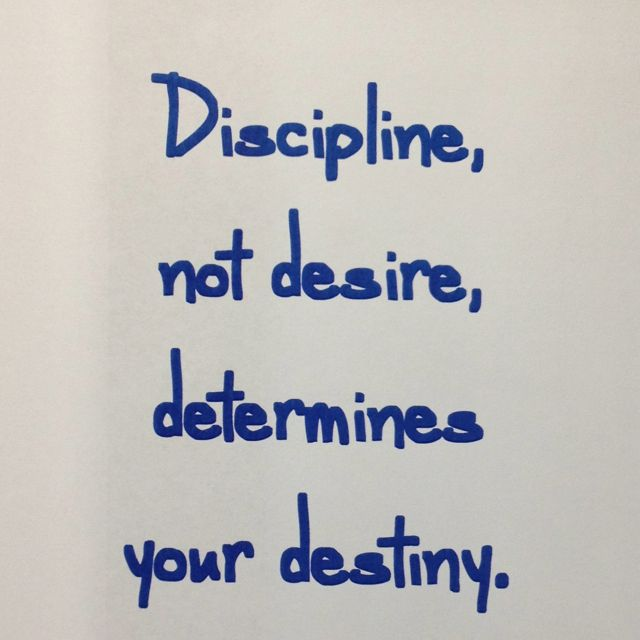 Discipline Not Desire Determines Your Destiny ~ Life lesson with Dr. Charles Stanley ~ Video lesson link:    http://www.intouch.org/broadcast/video-archives/content/topic/discipline_determines_destiny_video
