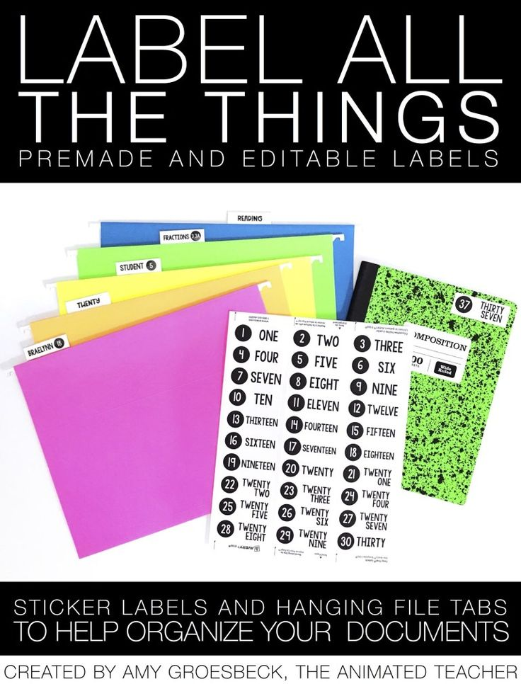 5 Ways Hanging Files Will Help You Organize Your Classroom