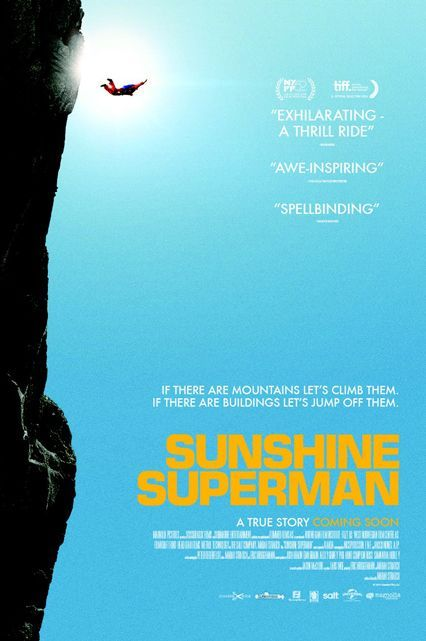 Sunshine Superman (2015)This sports documentary chronicles the life of Carl Boenish, one of the first professional BASE jumpers.Available March 31 #refinery29 http://www.refinery29.com/2016/02/103783/netflix-march-2016-new-releases#slide-70