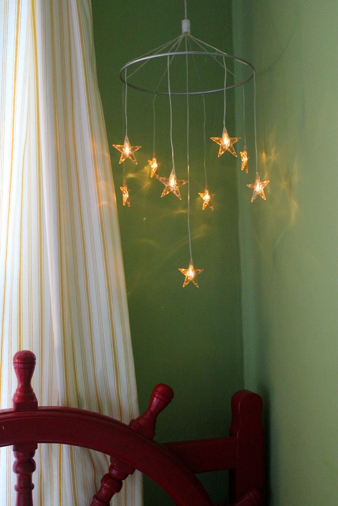 lighted hanging mobile