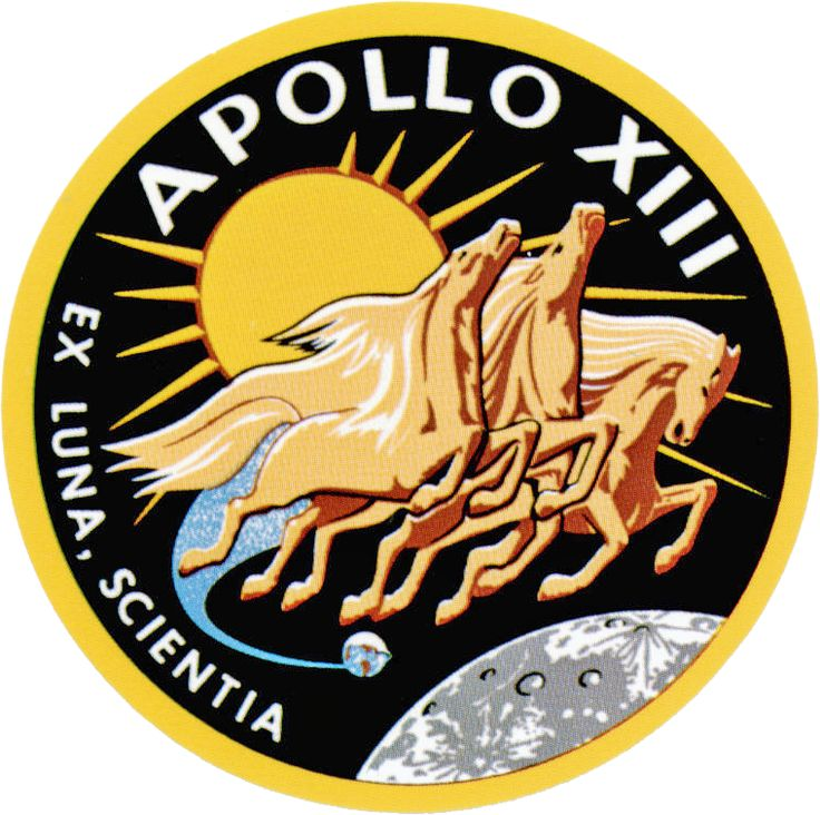Apollo 13 Patch by GeneralTate on deviantART