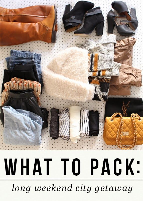 1000 ideas about weekend trip packing on pinterest for Long weekend trip ideas