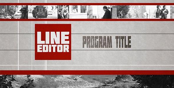 Broadcast Design(2d) Line Editor (Broadcast Pack)