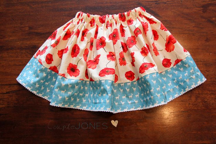 A Spin on our Child's Skirt Tutorial for Sewing BEGINNERS! :) excellent instructions!