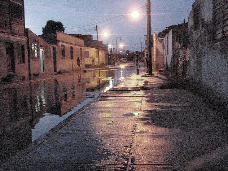 Noche lluviosa (Vota por esta obra en http://observarte.net)