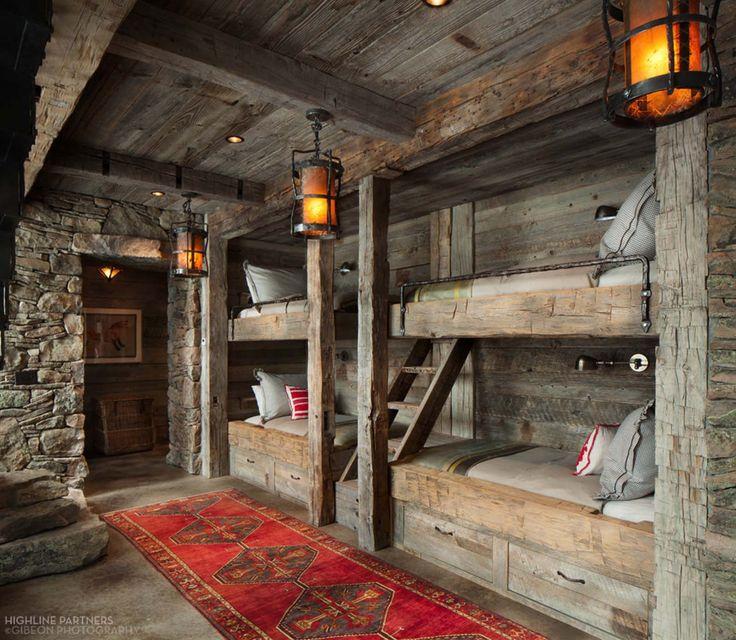Best 25 Cabin Bunk Beds Ideas On Pinterest Bunk Rooms