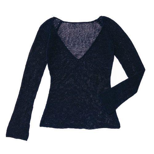 blue summer sweater