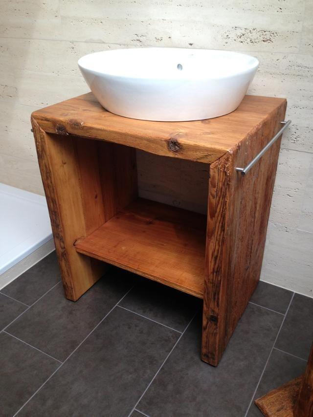 Waschtischunterschrank Klein Waschtisch Holzwasc