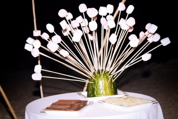 A fun way to display s'mores