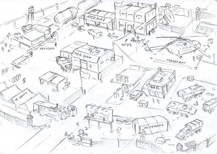 base's sketch by TugoDoomER