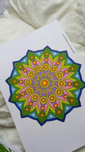 Mandala Coloring For Grown Ups