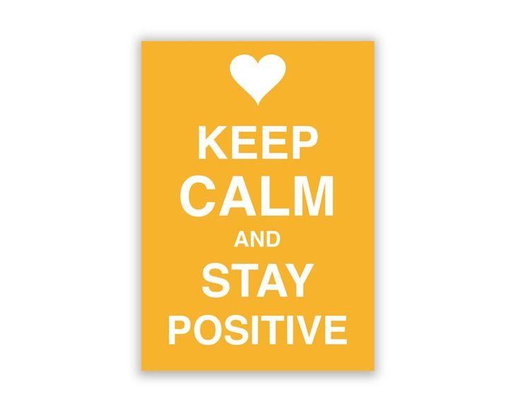 Keep Positive