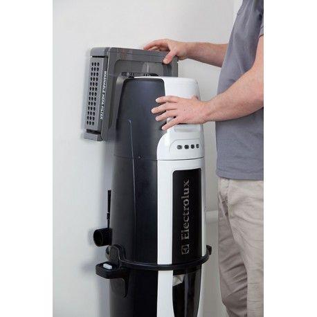 Le support pour filtre HEPA vous permet de filtrer l'air sortant de la centrale d'aspiration, en plus du filtre Gore-Tex de la cuve de l'aspirateur centralisé - aspirateur-centralise