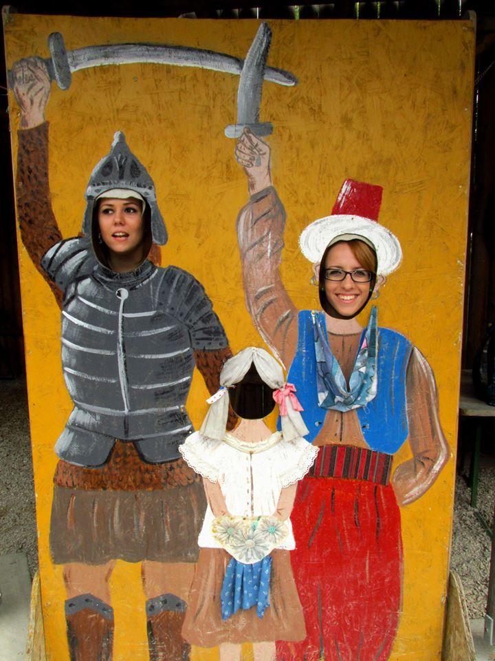 A Gárdonyi Rönkvárban a felnőttek is jól szórakoznak - Fotó: Dőry Júlia
