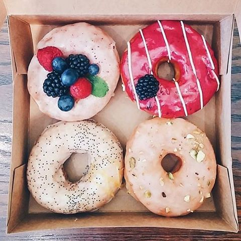 // Organic and Happy VEGAN DONUTS OMG! these look delish