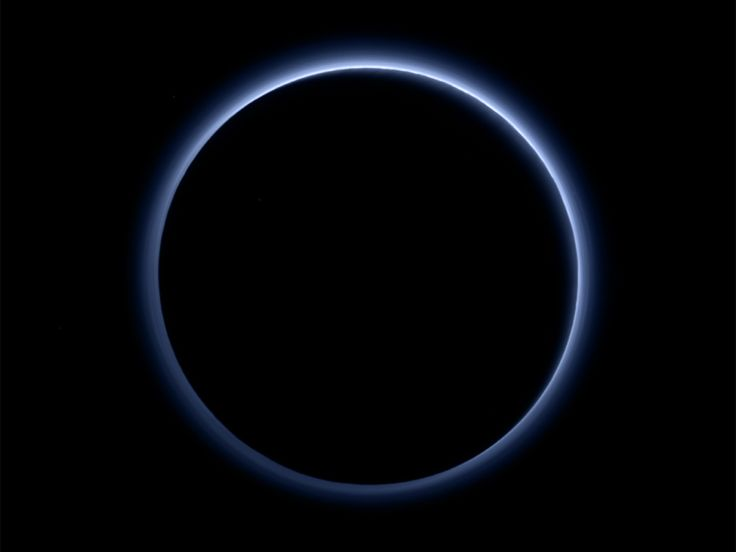 NASA's New Horizons mission keeps sending home the hits. This week: blue skies and frozen water!