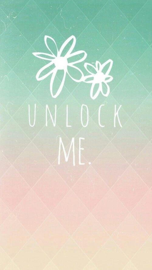 163 Unlock Me 163 On We Heart It Phone Lockscreens Pinterest