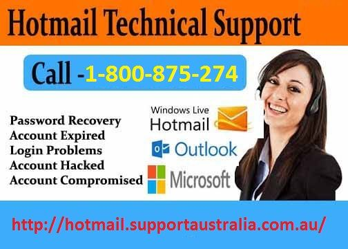 Having trouble with you Hotmail then dial our Hotmail account tech support toll-free number  Australia 1-800-875-274 and instant help form us.